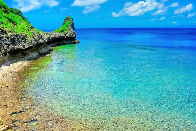 沖繩的大海,沖繩必去景點