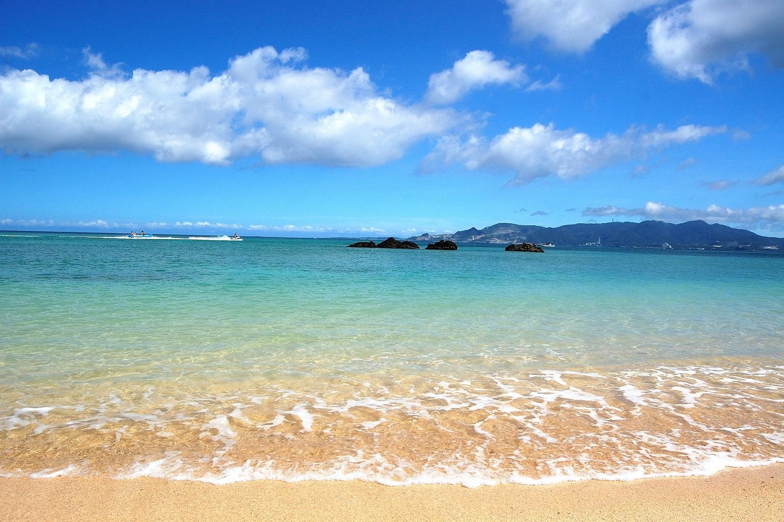 沖繩必取景點,沖繩大海