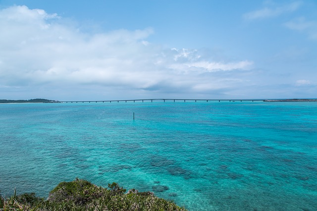 沖繩的大海同時也是沖繩必去景點