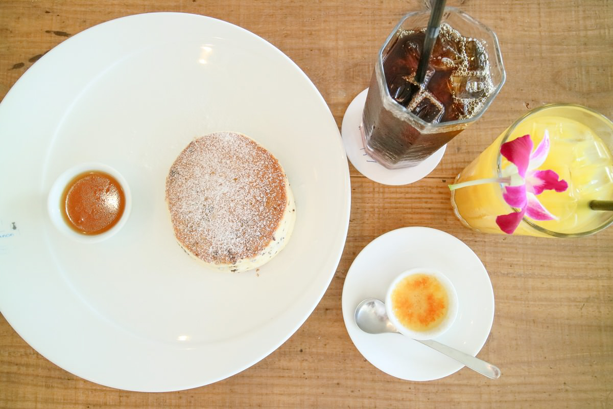 Seaside Cafe Hanon的鬆餅