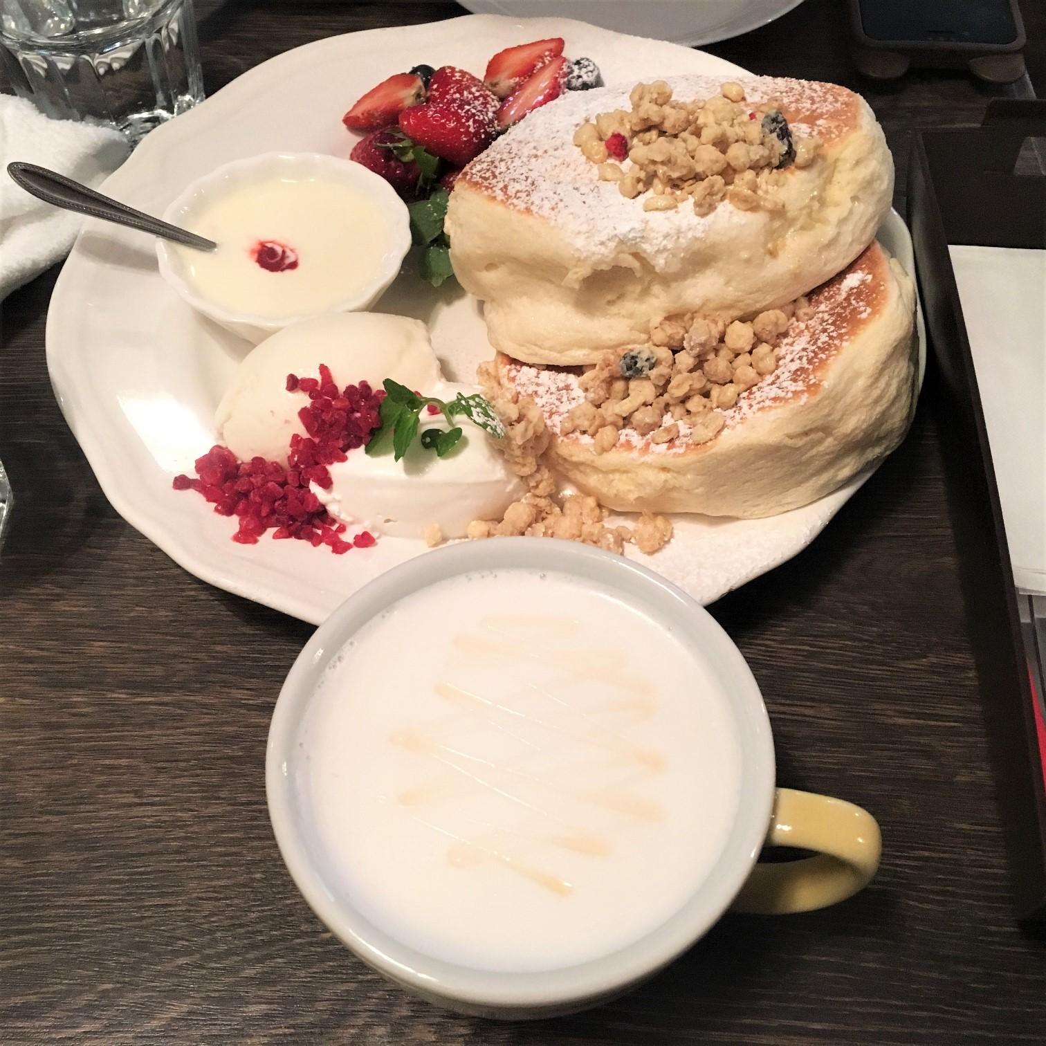 Cafe del SOL 福岡鬆餅 福岡美食 福岡 甜點