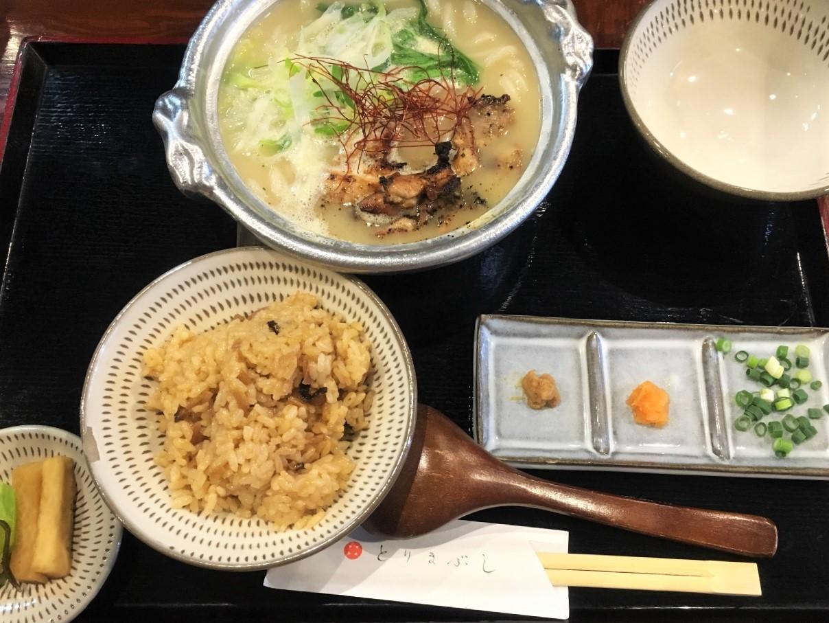 福岡必吃 水炊鍋 雞肉火鍋 とりまぶし