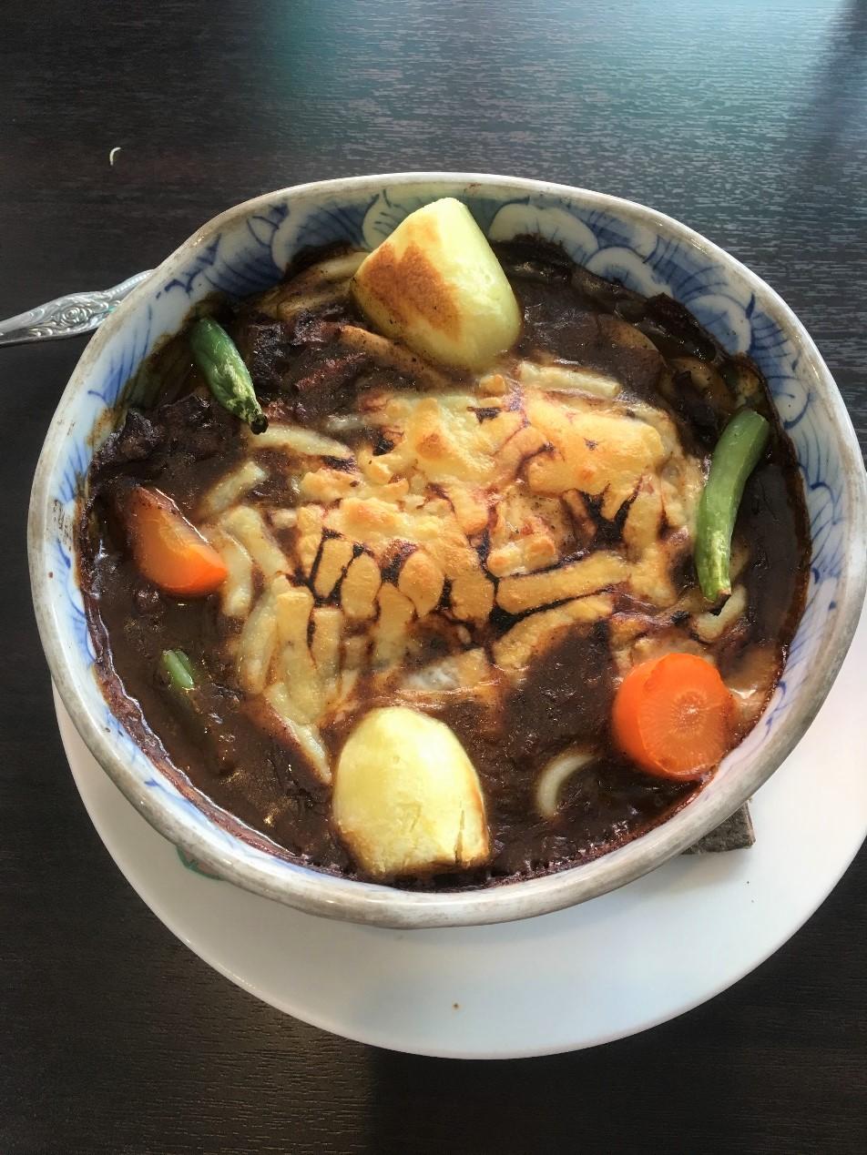 門司港最有名的燒咖哩,起司咖哩發跡地