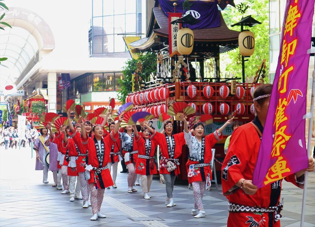仙台青葉祭 麻雀舞