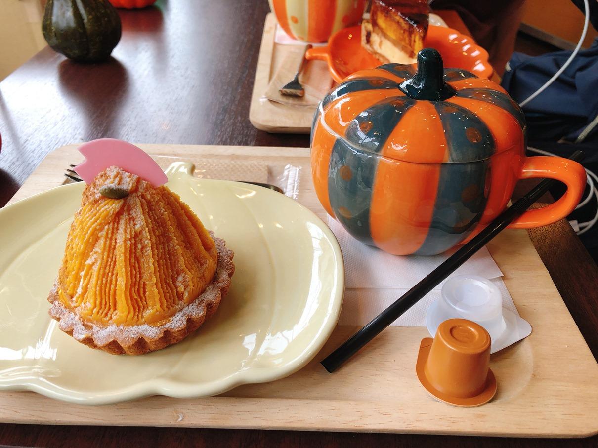三軒茶屋 南瓜甜點