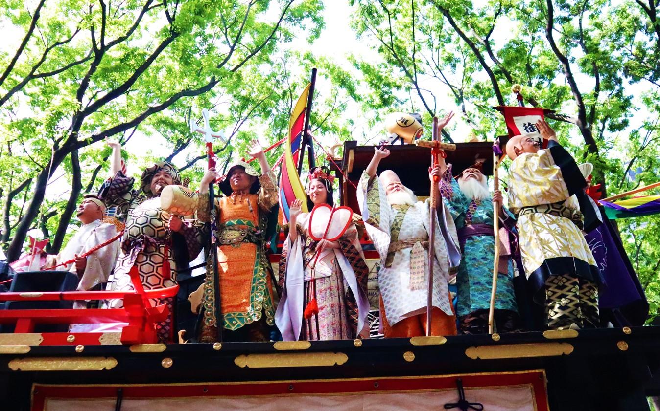 仙台青葉祭 七福神