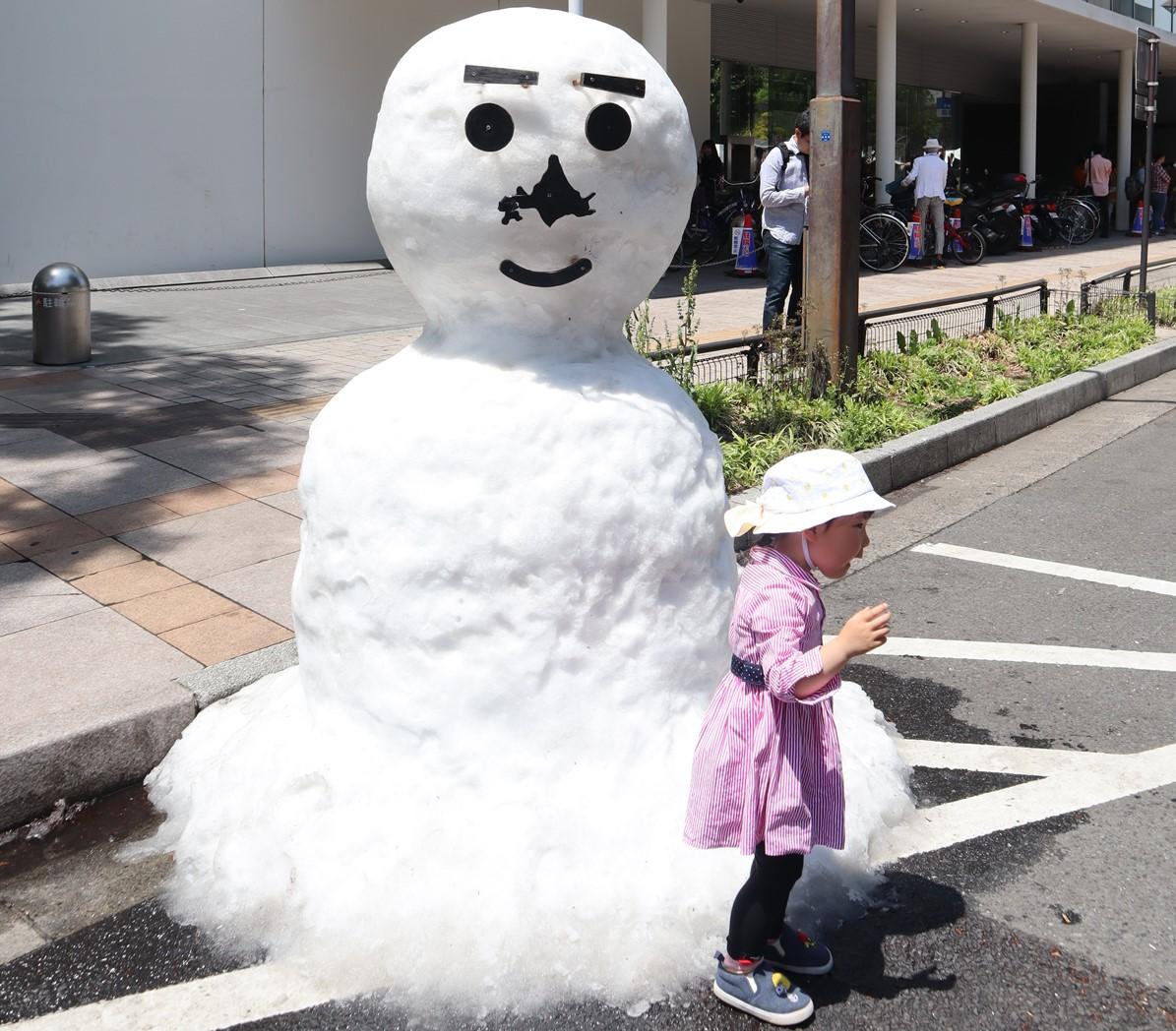 仙台青葉祭 雪人