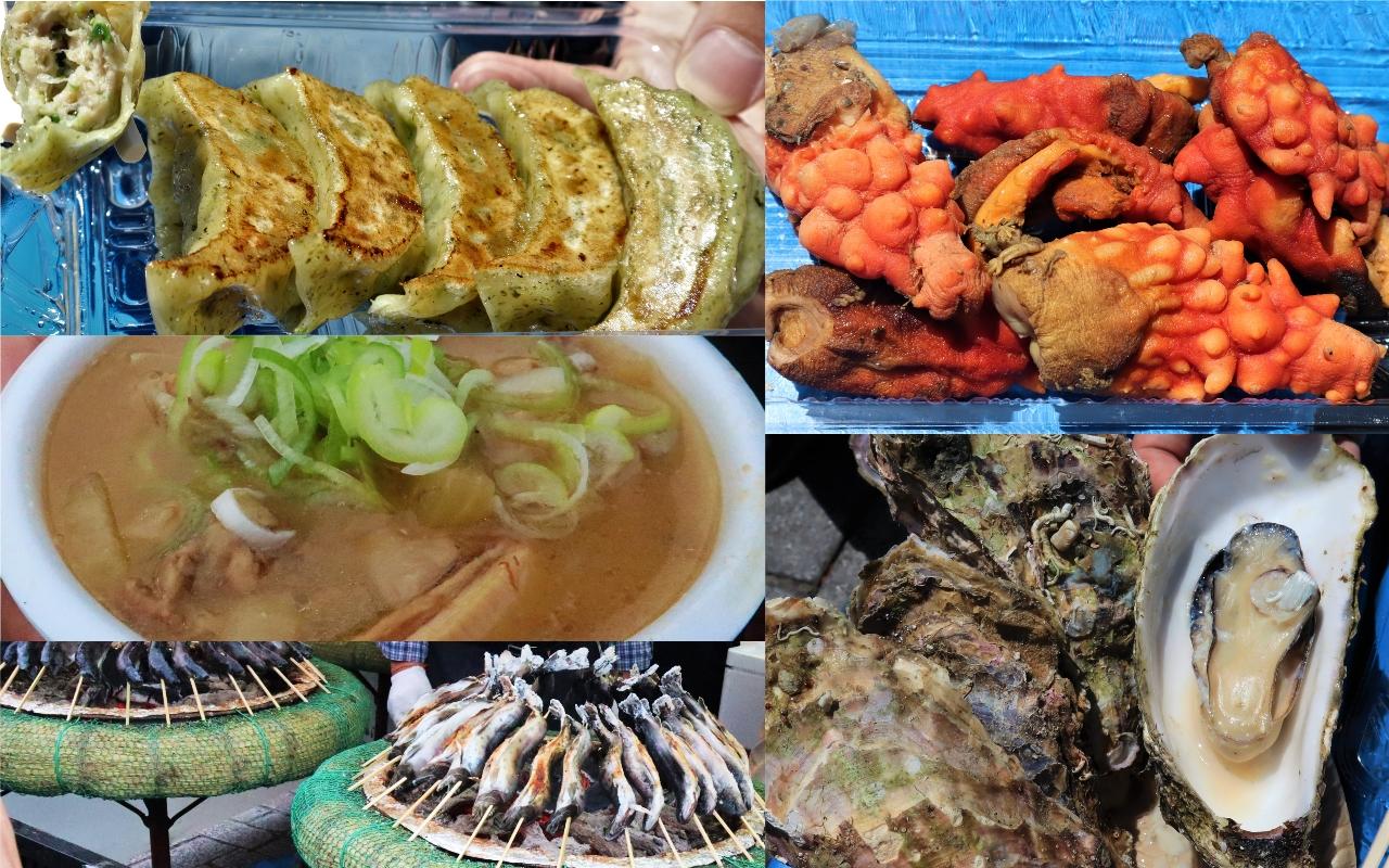 仙台青葉祭 日本東北美食