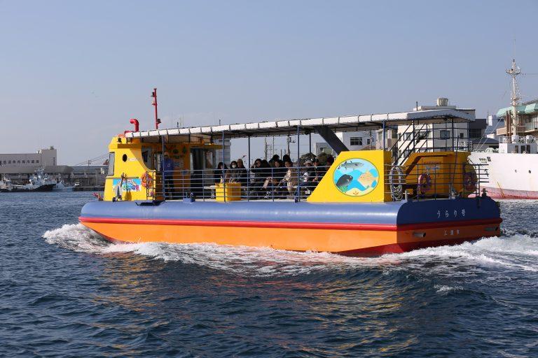 京急三崎鮪魚一日套票 水中觀光船彩虹魚號