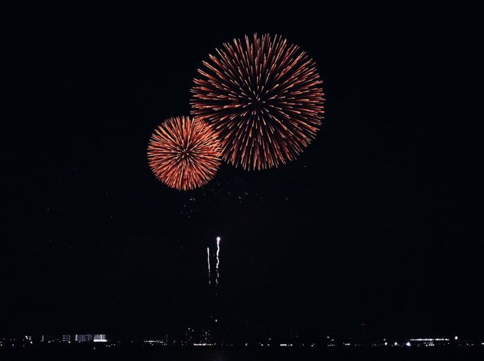 神戶海上花火大會-2