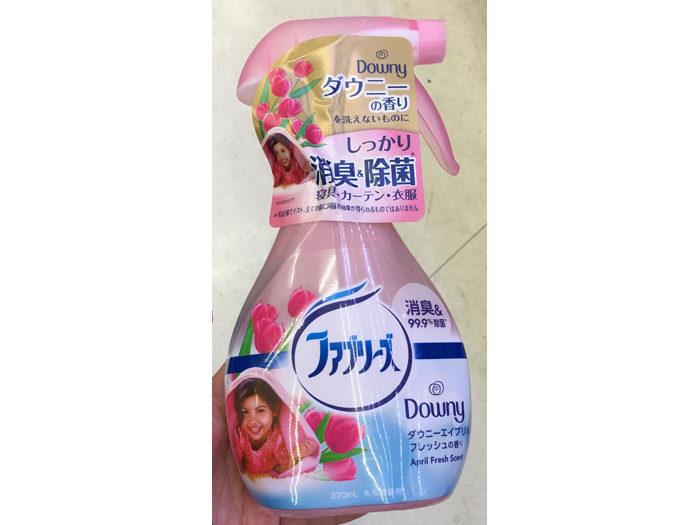 布製品消臭除菌噴霧(370ml,419日圓)