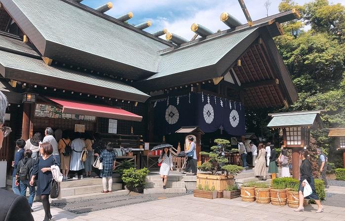 東京大神社側面