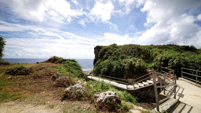 沖繩 慶座絕壁