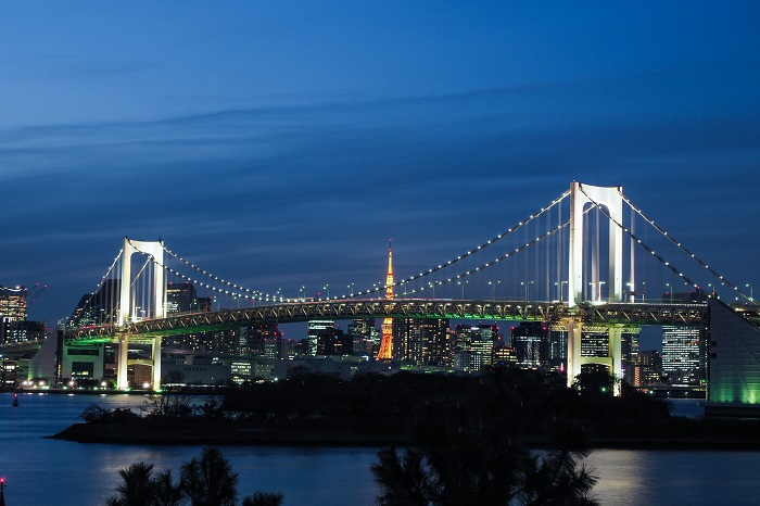 台場海濱公園 夜景