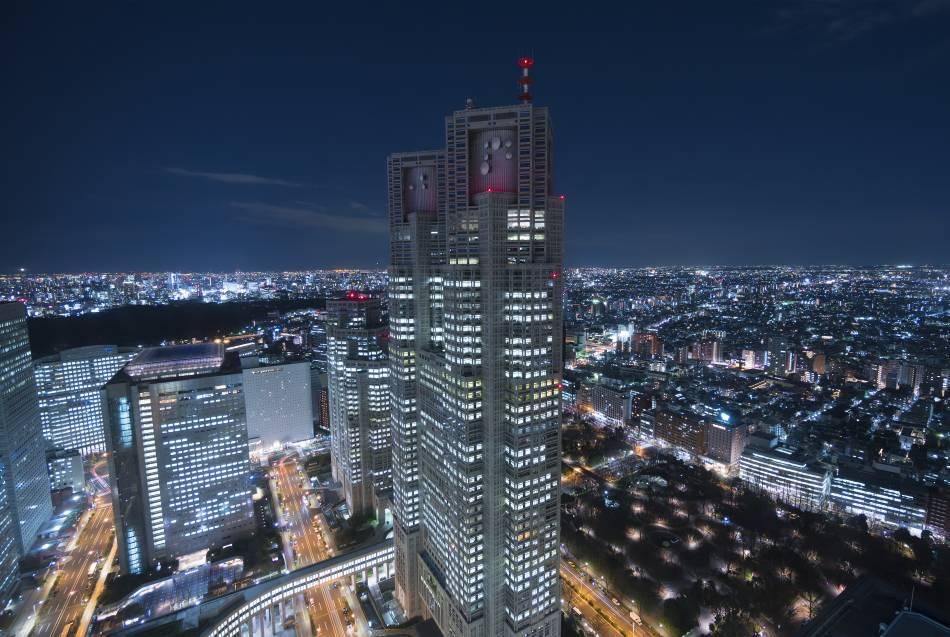 東京都廳 夜景