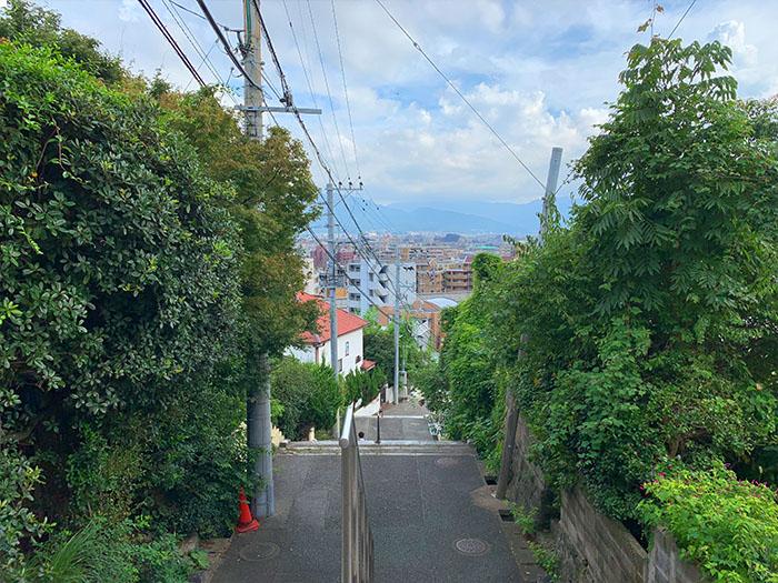 福岡鷲尾愛宕神社 日常街景2