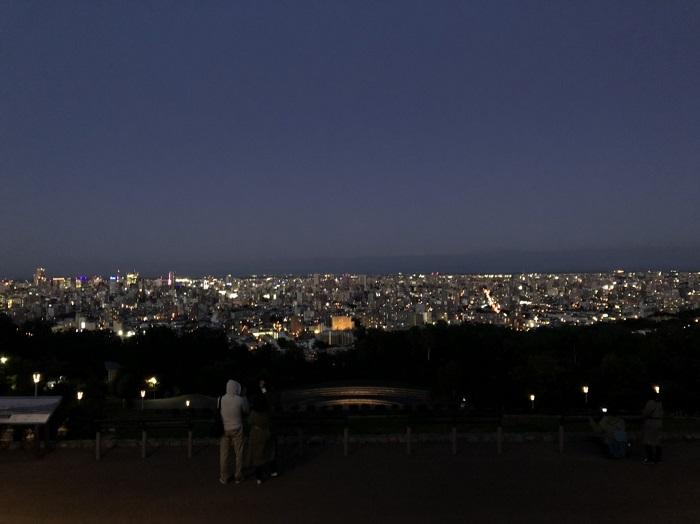 北海道自由行 旭山夜景