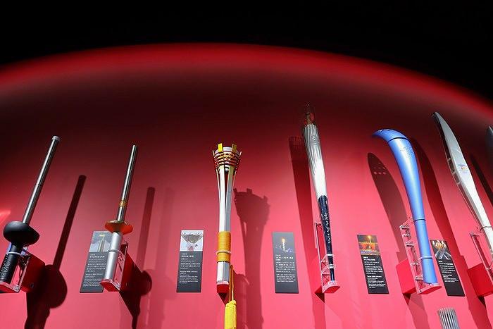 日本奧林匹克博物館 聖火火炬