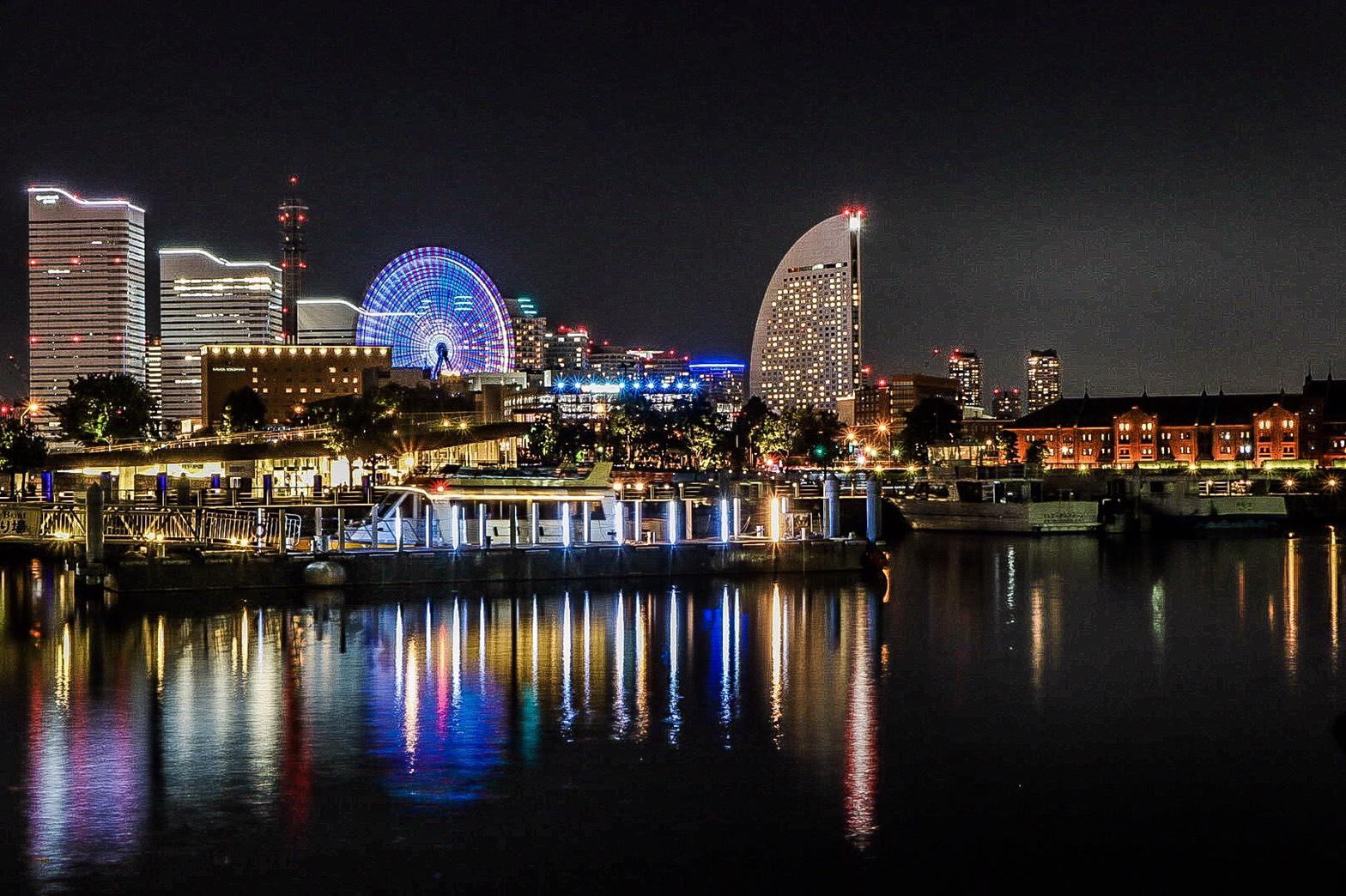 橫濱 夜景