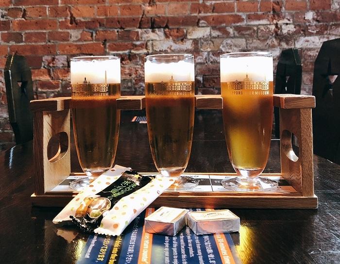 北海道自由行 啤酒試飲
