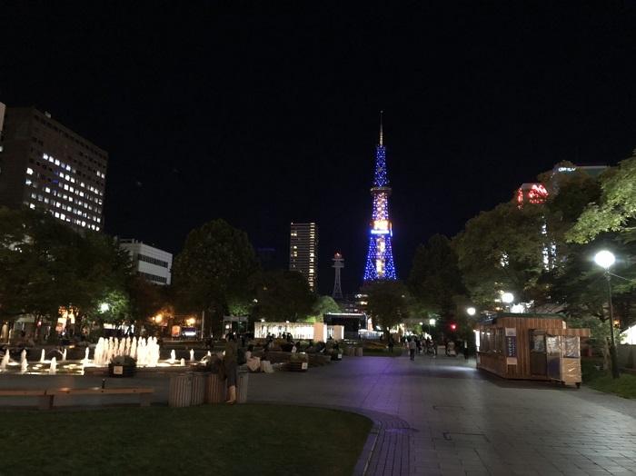 北海道自由行 電視塔