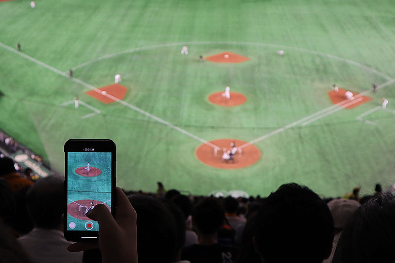東京巨蛋讀賣巨人比賽