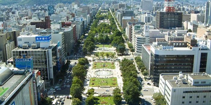 北海道自由行 大通公園