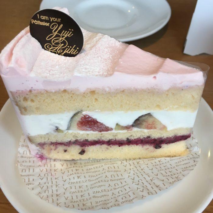安食雄二 無花果蛋糕