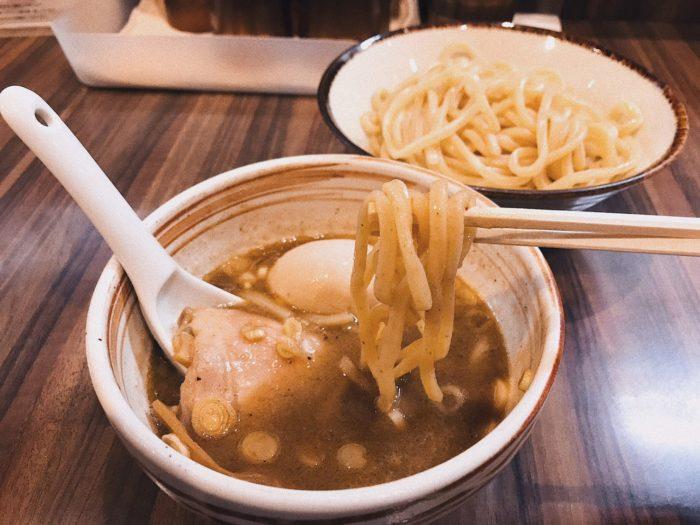 京都 美食 つけ麺恵なく
