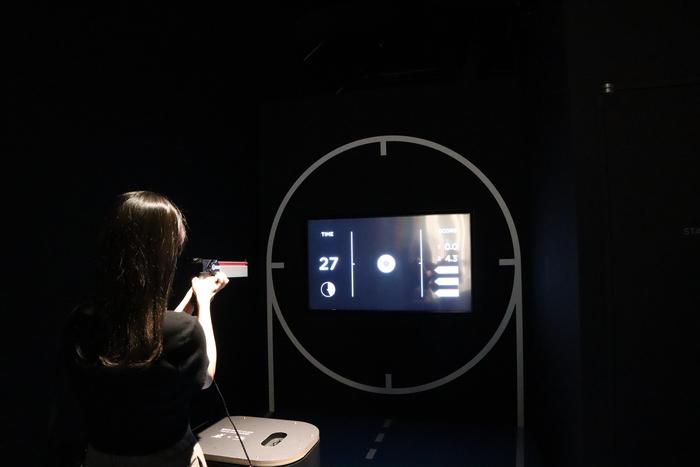 日本奧林匹克博物館  射擊體驗項目