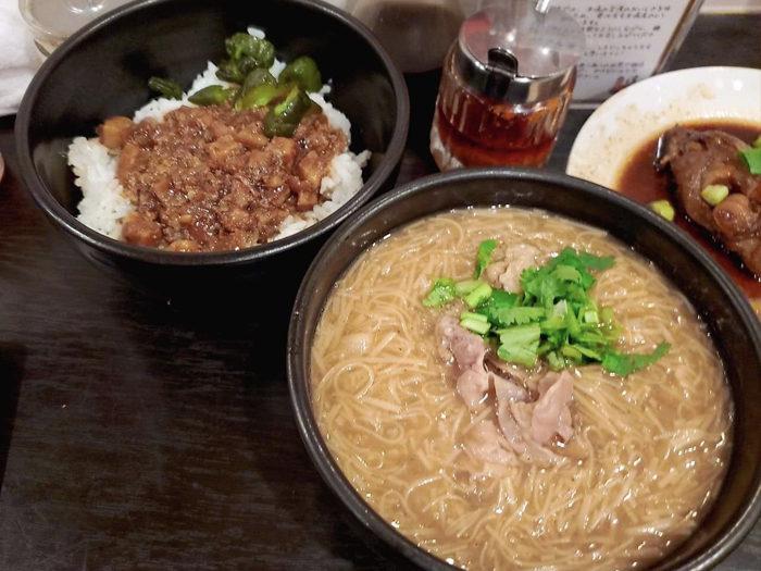 台灣麵線 滷肉飯 麵線