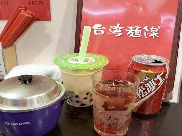台灣麵線 珍珠奶茶