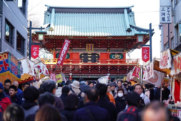 日本 新年參拜