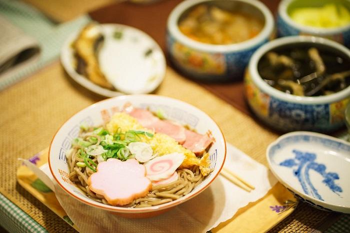 日本新年 蕎麥麵