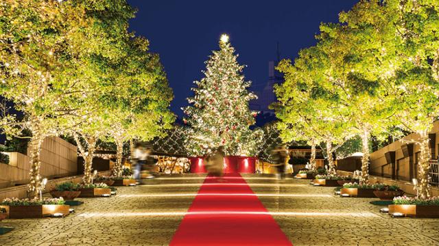 日本 聖誕燈飾