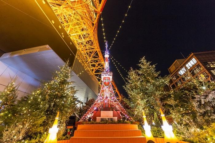 2019 東京鐵塔燈飾
