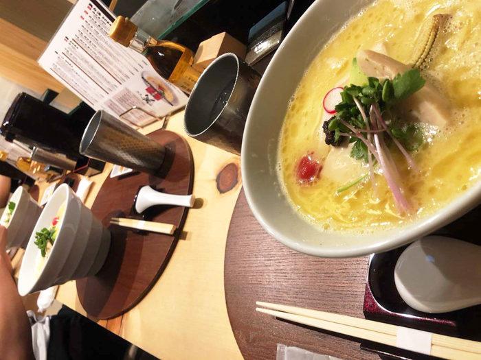 銀座 篝 雞白湯 拉麵