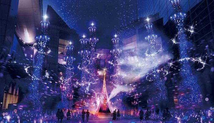 汐留Caretta 2019 阿拉丁 聖誕燈飾