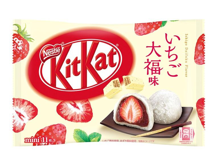 草莓大福 kitkat