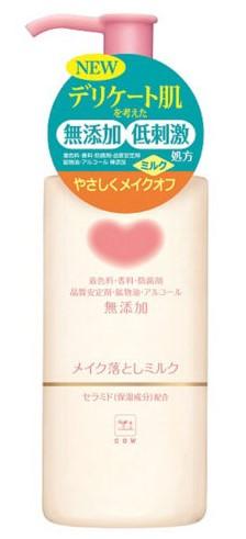 COW牛乳石鹼無添加卸妝乳