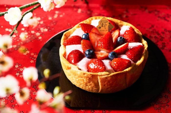 日本草莓季 PABLO草莓大福塔
