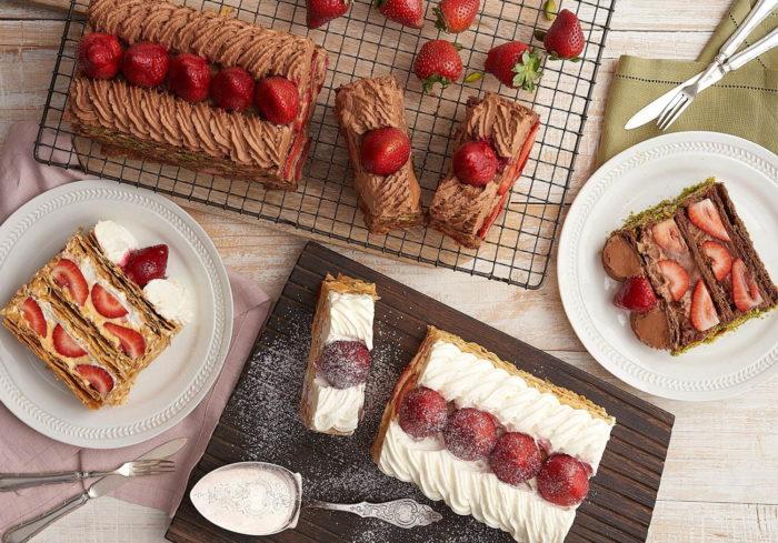 KIHACHI草莓拿破崙派 日本草莓季