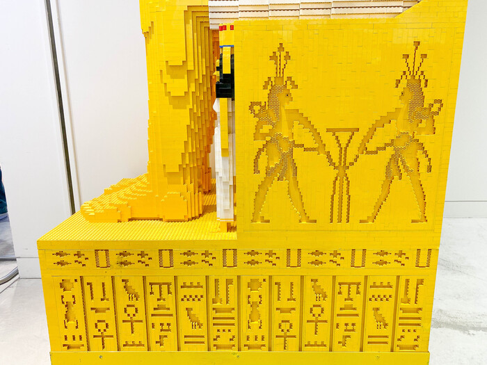 樂高世界遺產展 埃及豔后
