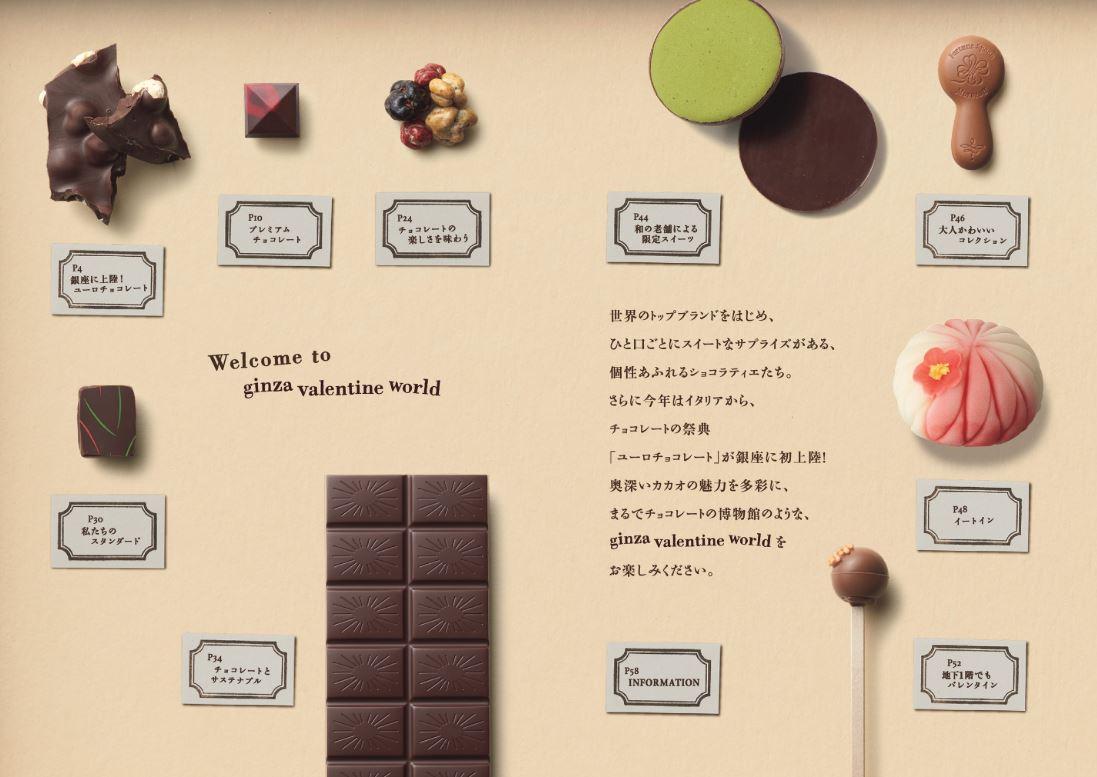 松屋銀座 巧克力