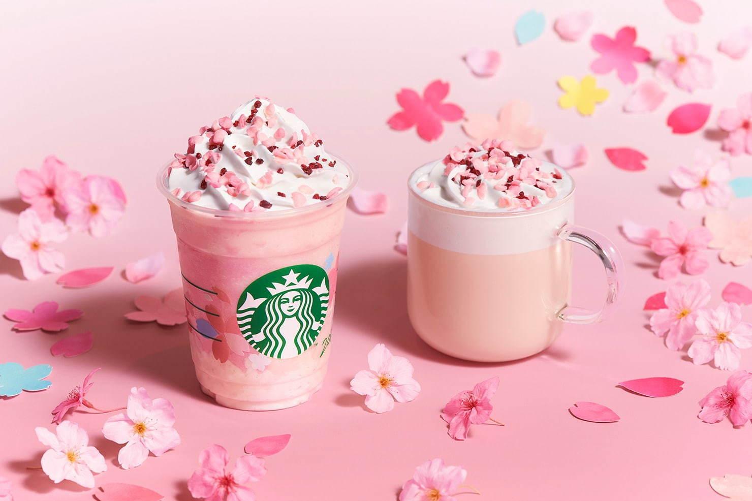 星巴克 2020 櫻花祭