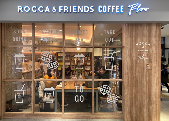 ROCCA & FRIENDS COFFEE Flow 大阪咖啡推薦