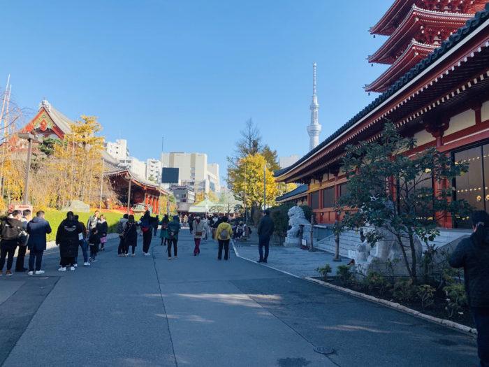 日本 淺草 散步路線