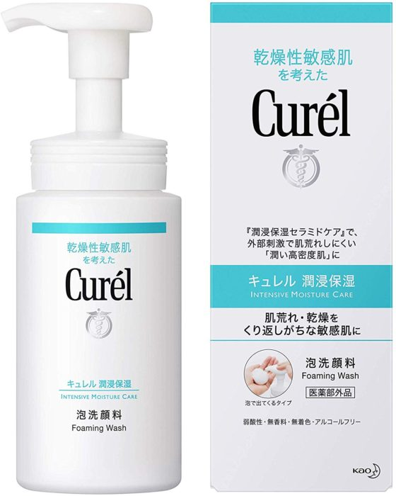 Curel 潔顏慕斯