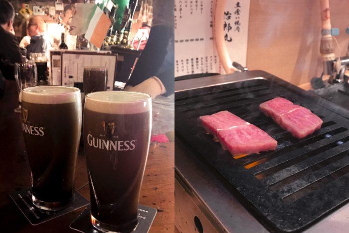 Guinness啤酒 治郎丸燒肉