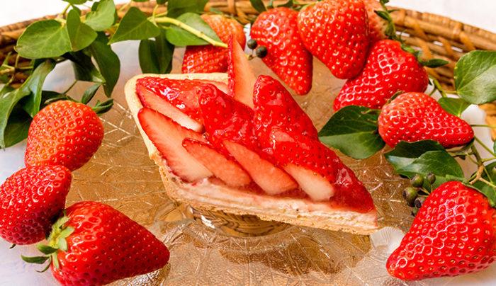 Qu'il fait bon KIRABIKA草莓塔斷面